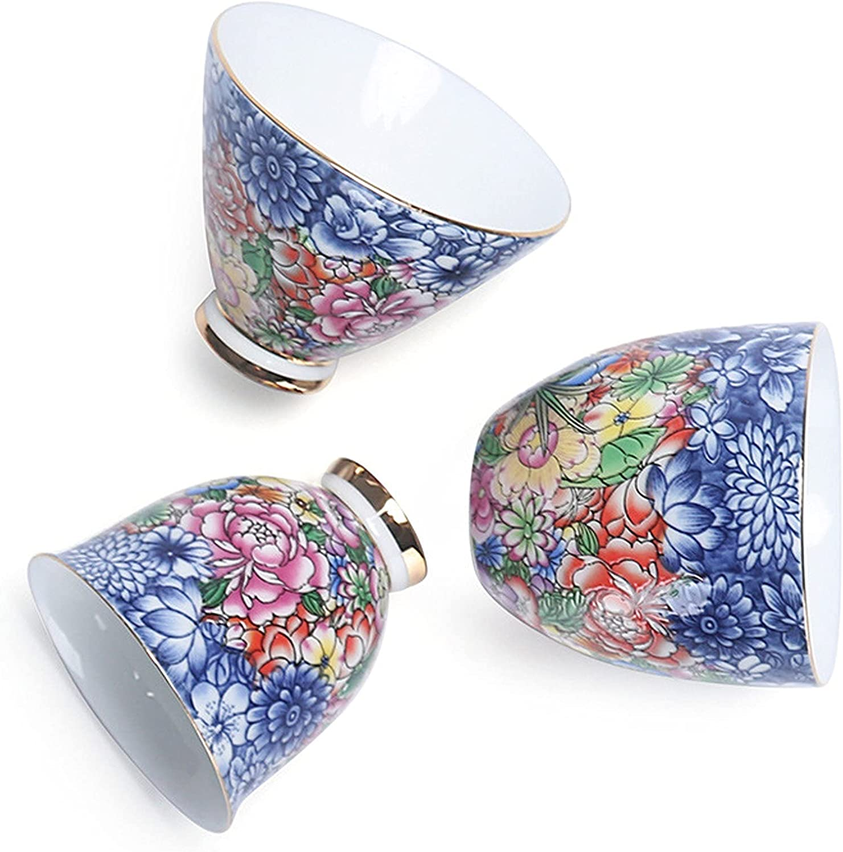 3 Piece Ceramic Tea Long Beach Mall Cup Set Teacup Retro Ranking TOP8 Chinese Mug Teaware