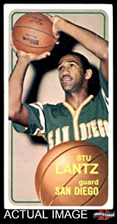1970 Topps # 44 Stu Lantz SAN DIEGO Clippers (Basketball Card) Dean's Cards 2 - GOOD Clippers
