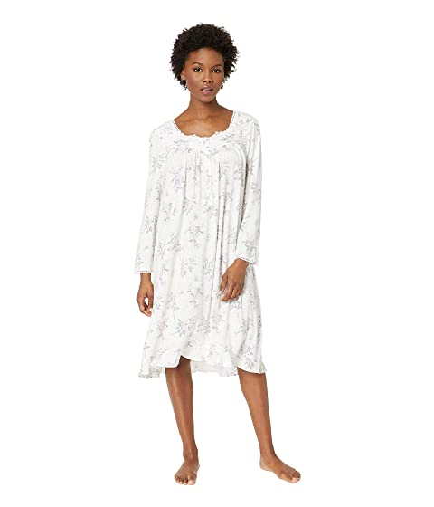 Eileen West  Petite Modal Waltz Nightgown, WHITE ROSE BOUQUET