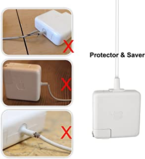 MacBook Charger Cable Protector -充電ケープル保護カバー、アップルMacBookの45 w/60 w/85 wのアダプターを適用する