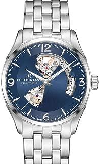 Hamilton Jazzmaster Automatic Open Heart Blue Dial Mens Watch H32705141