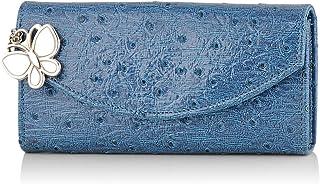 Butterflies Blue Women's Wallet (BNS 2271BL)