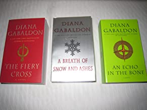 Books 5-7 of Diana Gabaldon's Outlander Series (Set Includes: The Fiery Cross, A Breath Of Snow and Ashes, An Echo in the ...