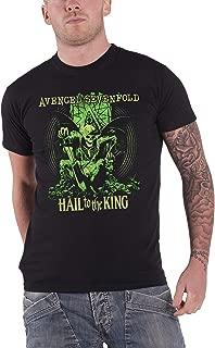 Avenged Sevenfold Mens T Shirt Black En Vie Hail to The King Official