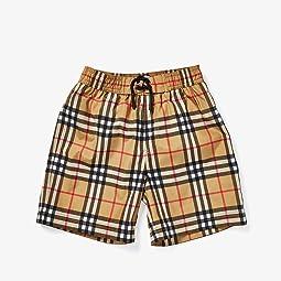 Galvin Check Swim Shorts (Little Kids/Big Kids)