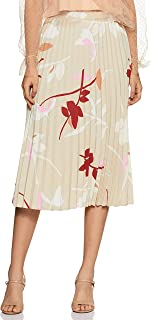 Marks & Spencer Rayon Marks and Spencer Women's Regular Fit Skirts