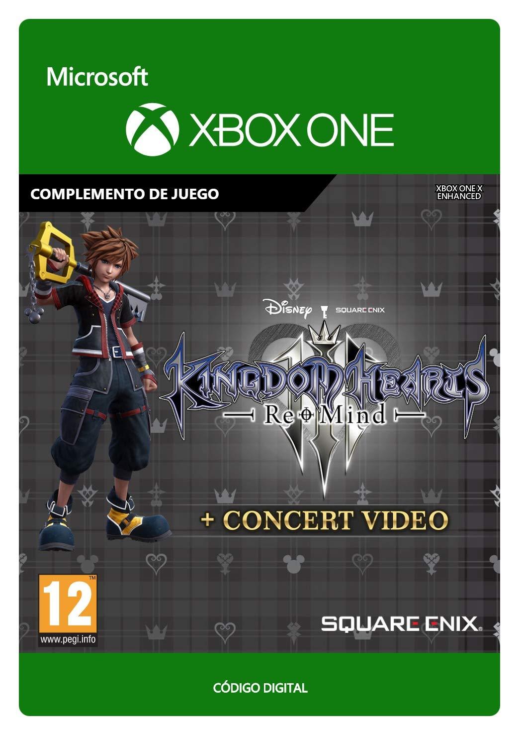 KINGDOM HEARTS III: Re Mind + Concert Video (EMEA)   Xbox One ...