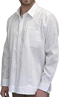 BOLTON TAILOR Guayabera para Hombre Color Blanco