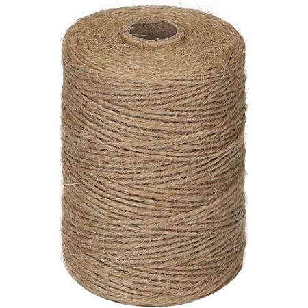2 mm Green Jute Cord Natural from spool=25 Yards =22.86 Meter TWISTED CORD Jute Rope Natural Fiber Rope Jute Cord Rope Burlap String Cording