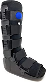 Superior Braces High Top, Low Profile Air Pump CAM Medical Orthopedic Walker Boot for Ankle & Foot Injuries (X-Large)