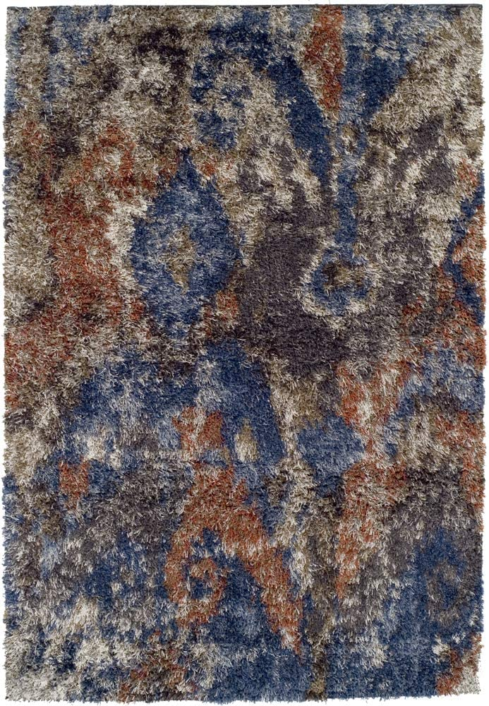 Berkley Aspire Shag Area Rug AT5 Special price At5 Patched free Multi 5 Faded