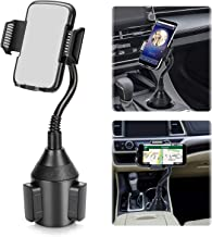 Car Phone Mount,Universal Smart Phone Adjustable Automobile Cup Holder Phones Mount for iPhone Xs/Max/X/XR/8 Plus /7 6 Samsung Galaxy S10/S9/ S8 Note 9 Nexus Sony,HTC,Huawei and All Smartphones