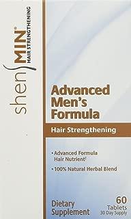 Shen Min Advanced Hair Strengthening Formula for Men, Tablets, 60 Count