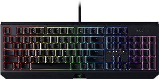 Razer BlackWidow - Teclado mecánico (Con interruptores verdes Razer, 100 millones de teclas, iluminación RGB Chroma, diseño US) negro