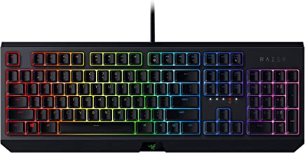 Razer BlackWidow Chroma Green Switch Mechanical Gaming Keyboard, Black, RZ03-02860100-R3M1