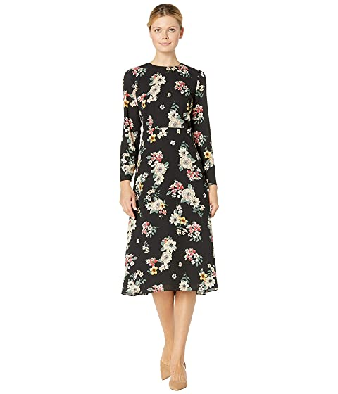 370523acc2 Vince Camuto Long Sleeve Floral Story Dress at Zappos.com