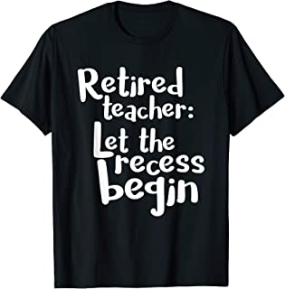 Best retired teacher shirt Reviews