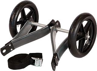 RUK Sport T005 - Carrito para kayak, con correa y ruedas desmontables, capacidad hasta 40 kg