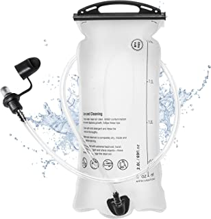 ConchSport Hydration Bladder 1.5l 2l 3l, Water Bladder for Camelbak Backpacks, Leak Proof, Auto Shut-Off Bite Valve, Large Opening Reservoirs for Running Cycling