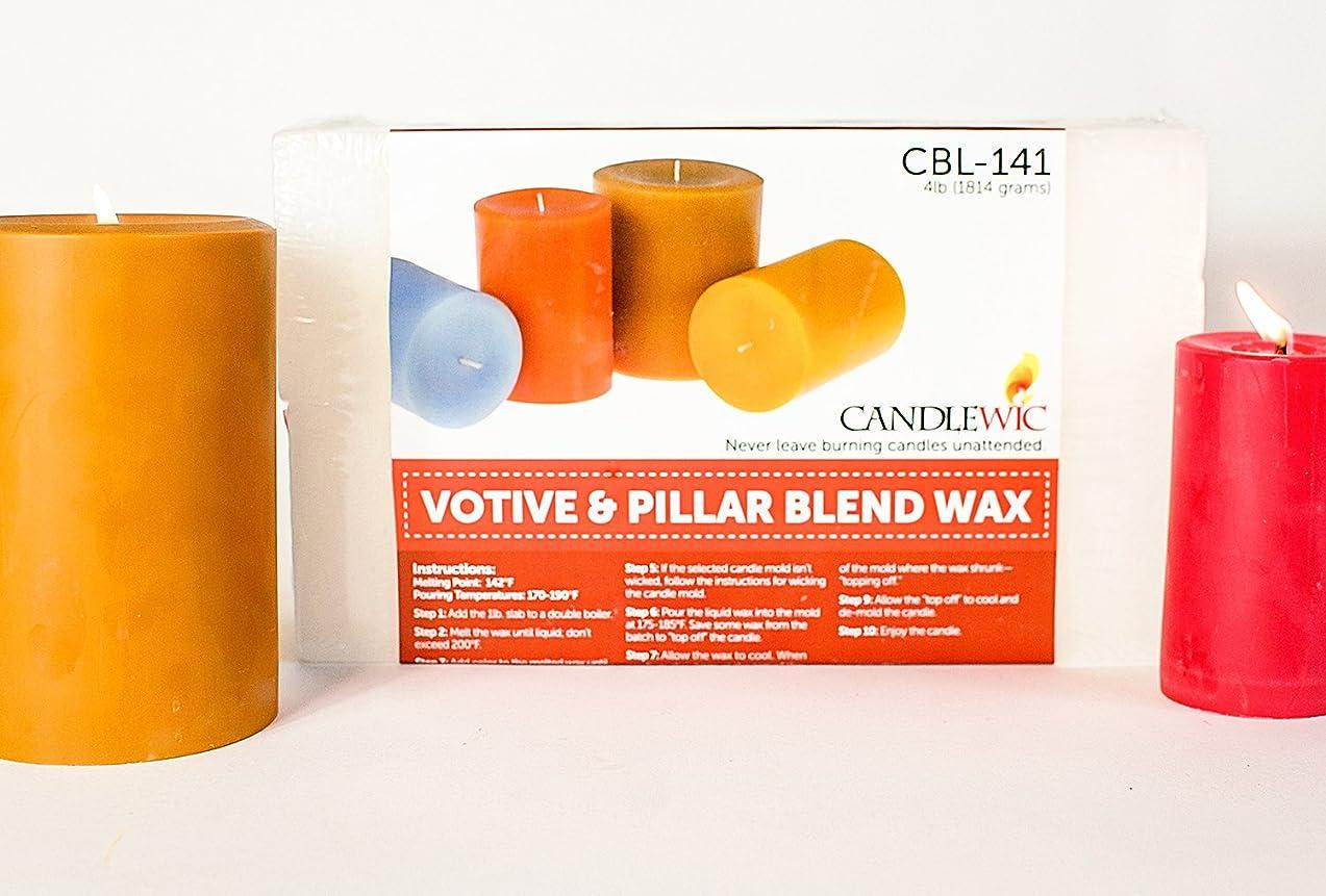 Candlewic 4lb. Pillar Candle Wax