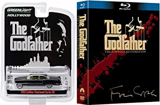 Guns & Canolli Godfather Trilogy Blu Ray Set Movie & Collectible Car Collection