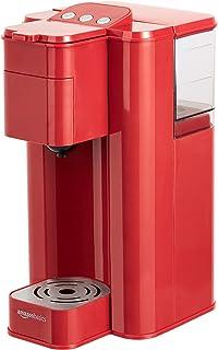 AmazonBasics Single Serve Capsule Coffee Maker, Red