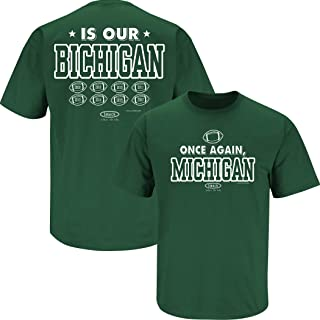 funny state of michigan t shirts
