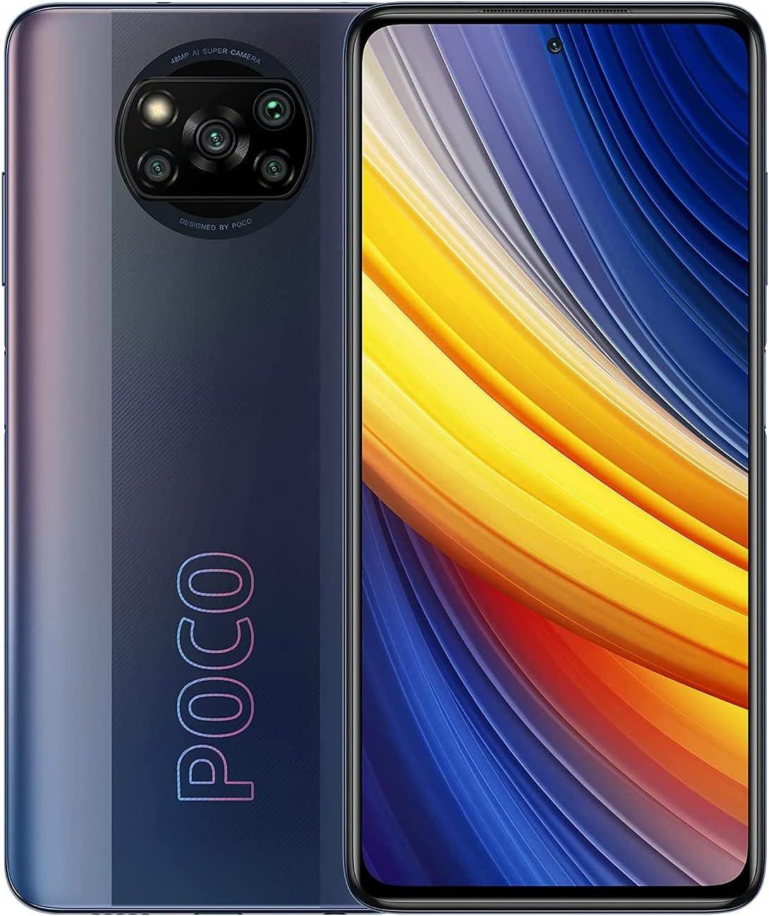 "Xiaomi POCO X3 Pro - Smartphone 6+128 GB, 6,67"" 120Hz FHD+DotDisplay, Dual Sim, Snapdragon 860, Cámara Cuádruple de 48 MP, 5160 mAh, Fantasma Negro"