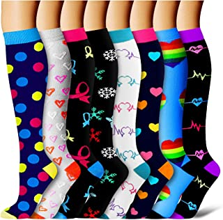 Compression Socks for Women and Men-Best Medical,for Running,Athletic,Circulation & Recovery