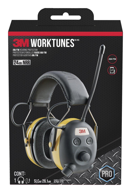 3M WorkTunes Hearing Protector Radio