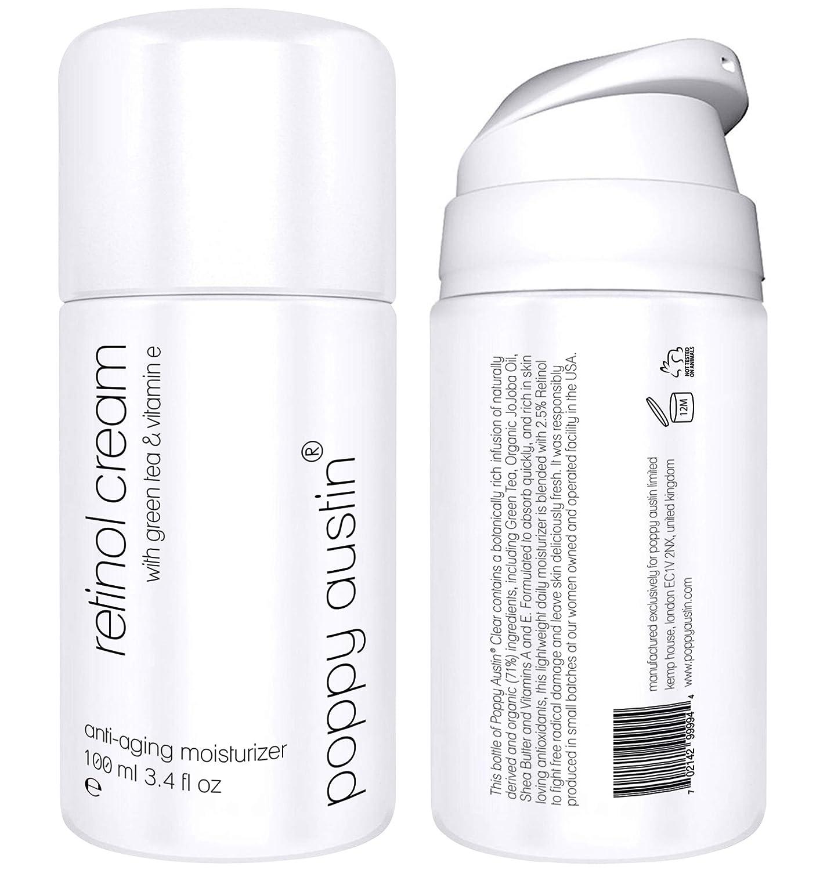 Organic Retinol Cream - Triple Sized 5x Opening large release sale Luxury oz 13 Gentle More 3.4