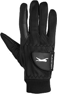 Slazenger Unisex Touch Fastening Ribbed Trim Winter Gloves