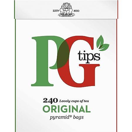 Pg Tips Paquete de Té Negro de 1 x 240 Piezas 2780 g
