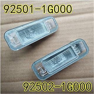 Piaopiao 925011G000 925021G000 Trunk License Lamp LH RH 2EA Fit for Kia Rio 4D 5D 2006-2011 92501-1G000 92502-1G000 (Color...