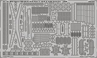 Eduard P/etch 1:350 - Hms Queen Elizabeth 1943 Deck & Main Batteries (tru05324)