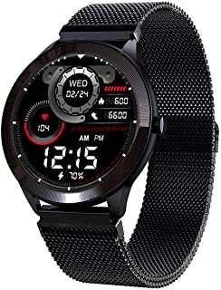 Maxima Max Pro Smartwatch with SpO2, Upto 15 Day Battery life, Full-touch Ultra Bright Display of Upto 380 Nits, 10+ Sport...