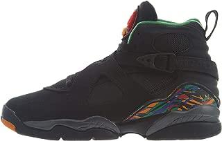 Nike Air Jordan 8 Retro GS Kids Black 305368-004 (Size: 5.5Y)