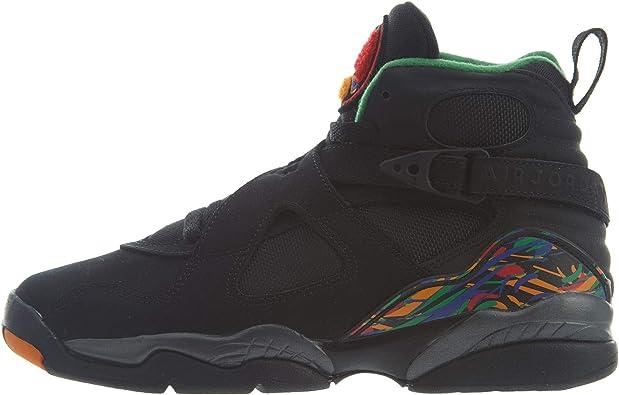 Jordan Nike Air 8 Retro GS Kids Black 305368-004