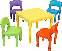 Tavoli Sedie Plastica Marca.Amazon It Tavolo Bambini Plastica Con Sedie