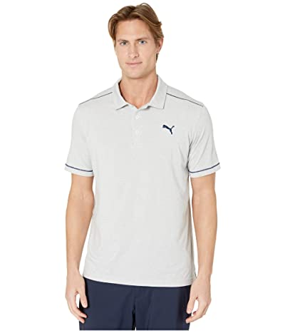 PUMA Golf Rancho Polo (High-Rise Heather) Men