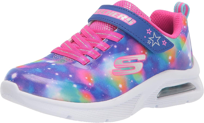 Skechers Kids Girls 302369L Sneaker Black Multi NEW Our shop most popular Little 2.5 Kid