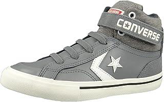 e4e113d988ac Converse Junior Pro Blaze Strap Hi Color Mason Storm Wind Egret (Grey)