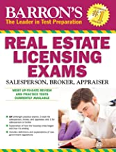 Barron's Real Estate Licensing Exams, 10th Edition (Barron's Real Estate Licensing Exams: Salesperson, Broker, Appraiser)