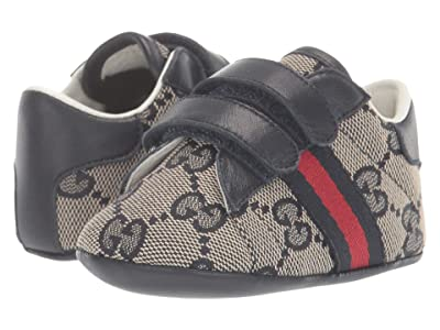Gucci Kids New Ace Sneakers (Infant/Toddler) (Drak Blue) Kid