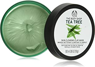 Best The Body Shop 1092184 Tea Tree Skin Clearing Clay Face Mask, 3.85 Oz Review