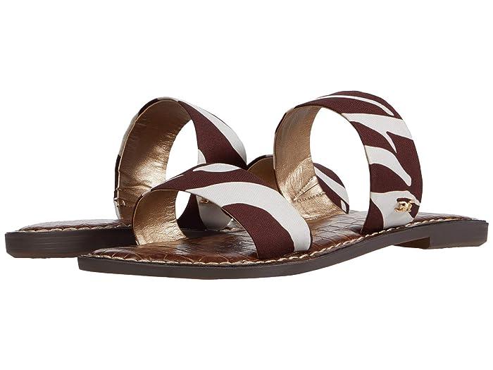 Sam Edelman  Gala (Brown Multi Zambian Zebra Dress Silk) Womens Shoes