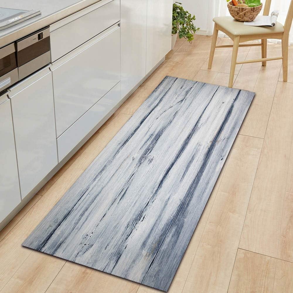 OPLJ Simple and Colorful Wood Grain 2021 Atlanta Mall Kitchen Bedr Door Carpet mat
