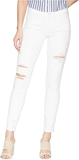 Paige - Skyline Ankle Peg in Bright White Destructed