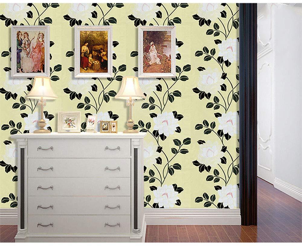 para encimeras de cocina 40 x 300 cm vinilo para muebles color blanco papel de pl/ástico Timeet Papel pintado autoadhesivo con efecto de purpurina