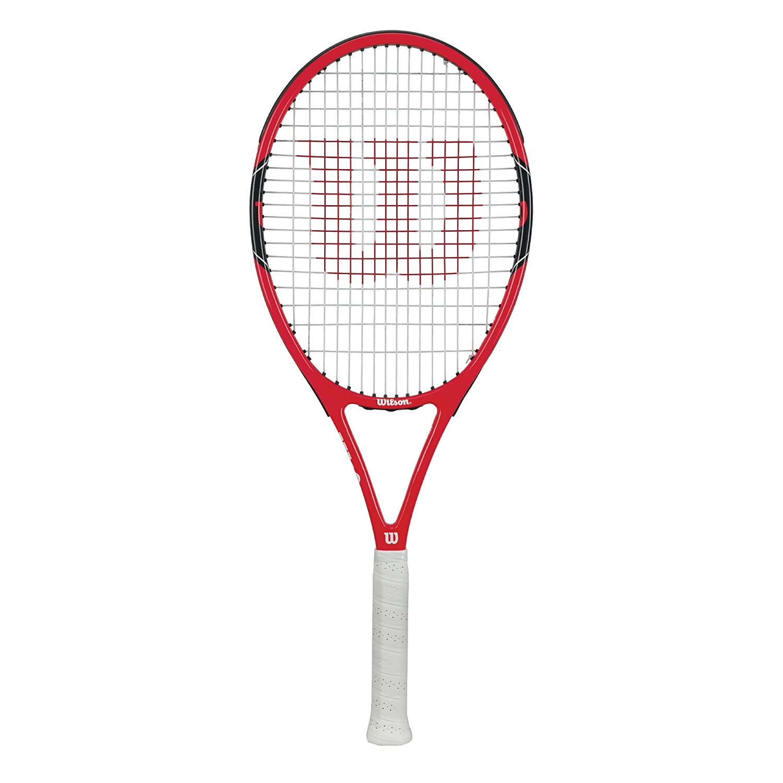 Wilson(ウイルソン) 硬式 テニスラケット FEDERER 100 (フェデラー100) [ガット張り上げ済み] WRT3110002 グリップサイズ G2